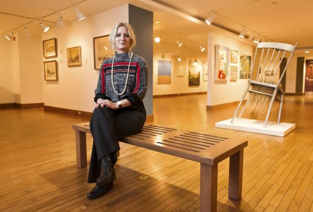 La Sherbrookoise Anaïs Girardot est évaluatrice d'oeuvres d'art,... (Spectre, Jessica Garneau)