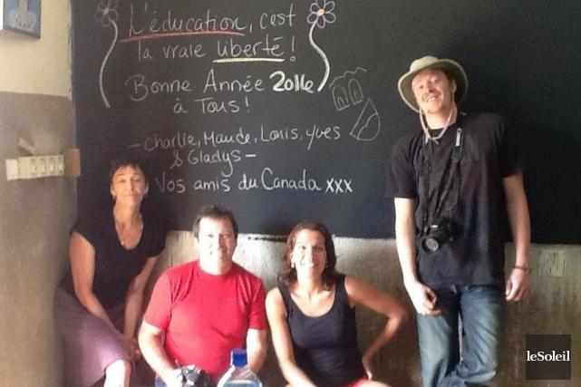 Gladys Chamberland, Louis Chabot, Maude Carrier et Charlelie... (Photothèque Le Soleil)