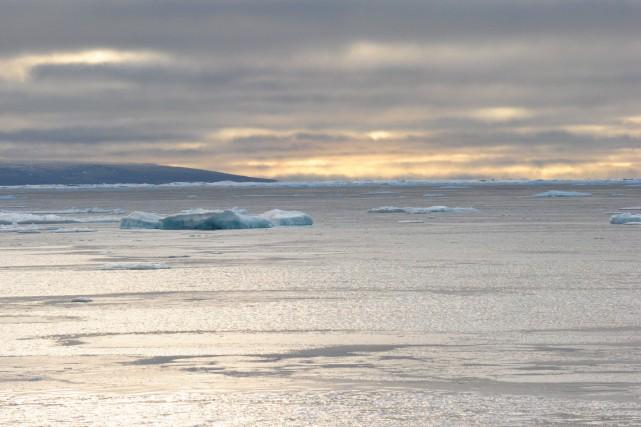 Le passage du Nord-Ouest, dans le Grand Nord... (Archives AFP, Clément Sabourin)
