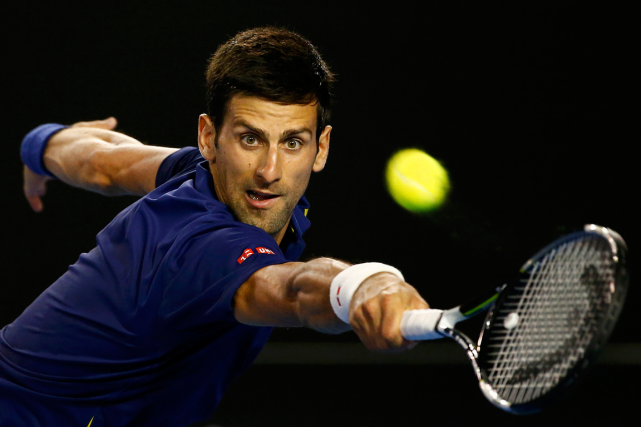 Le numéro 1 mondial Novak Djokovic a disposé... (Photo Thomas Peter, Reuters)