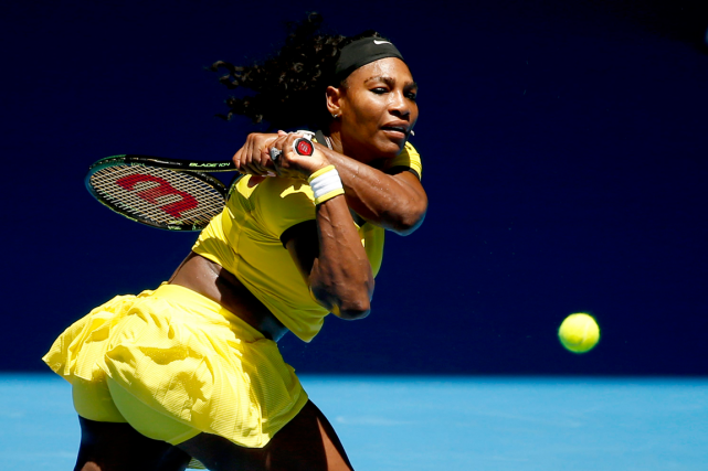Serena Williams... (Photo Vincent Thian, AP)