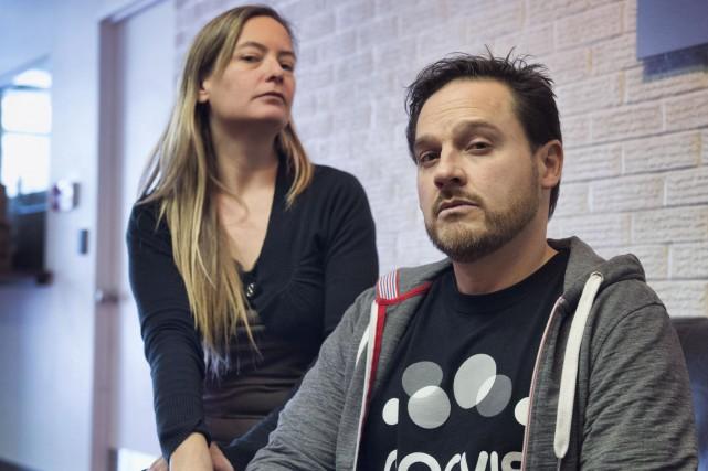 Julie Gagnon et Steve Méthot interprètent un couple... (Spectre Média, Julien Chamberland)