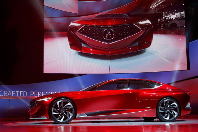 L'Acura Precision Concept... (Photo Rebecca Cook, Reuters)