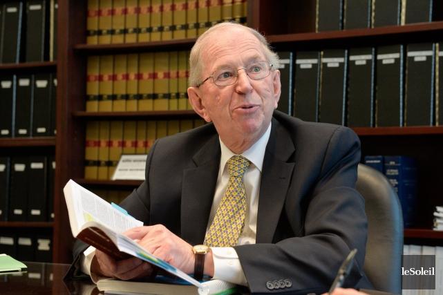 Le juge en chef associé de la Cour... (Photo Le Soleil, Caroline Grégoire)
