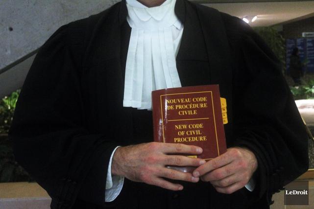 Le nouveau Code de procédure civile est entrée... (Photo Le Droit, Étienne Ranger)