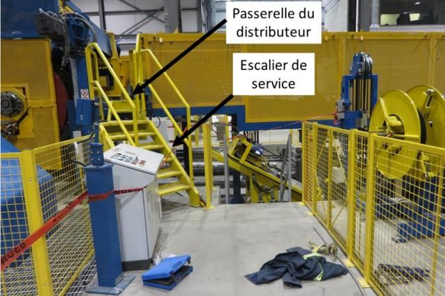 Stéphane Châteauneuf, un travailleur chez Sural Québec qui perd la vie au... (Photo CNESST)