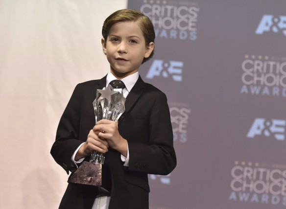 Jacob Tremblay lors des Critics' Choice Awards dimanche.... (PHOTO AP)