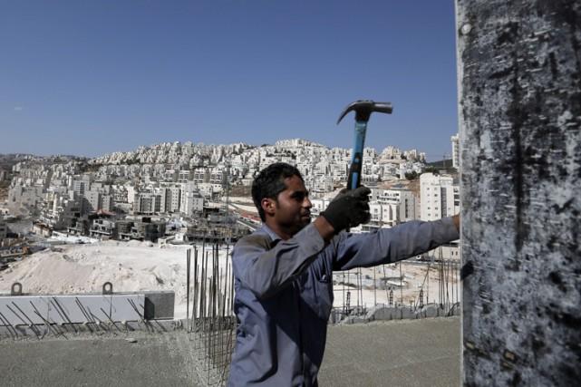 Israël occupe la Cisjordanie depuis 1967. La coexistence... (PHOTO AFP)