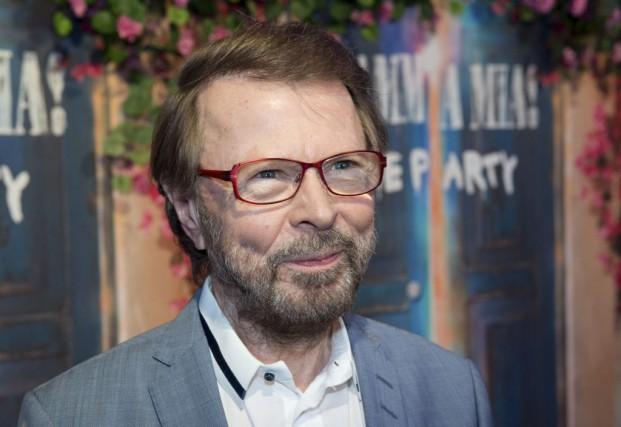 Bjorn Ulvaeus, l'un des membres du groupe ABBA.... (PHOTO AFP)