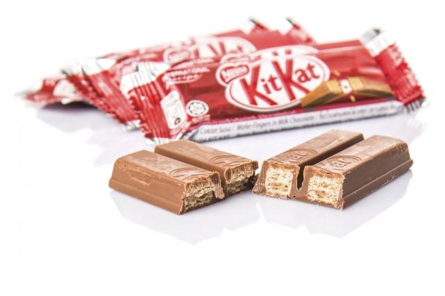 Une tablette de chocolat Kitkat... (123RF/akulamatiau)
