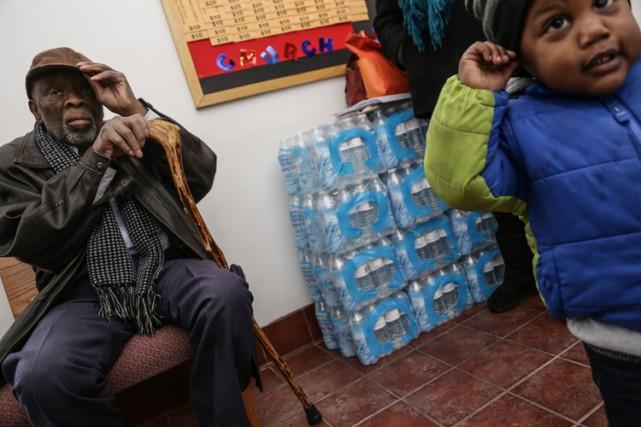 L'eau de Flint a été contaminée au plomb... (PHOTO AP)
