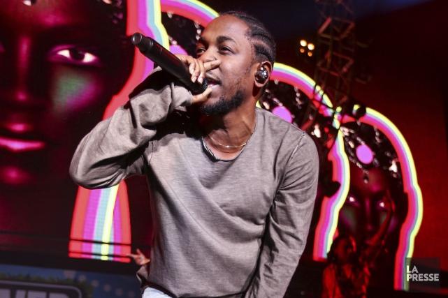 Kendrick Lamar... (AP, John Salangsang)
