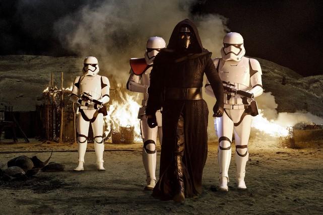 Star Wars: le réveil de la force... (PHOTO FOURNIE PAR LUCASFILM)