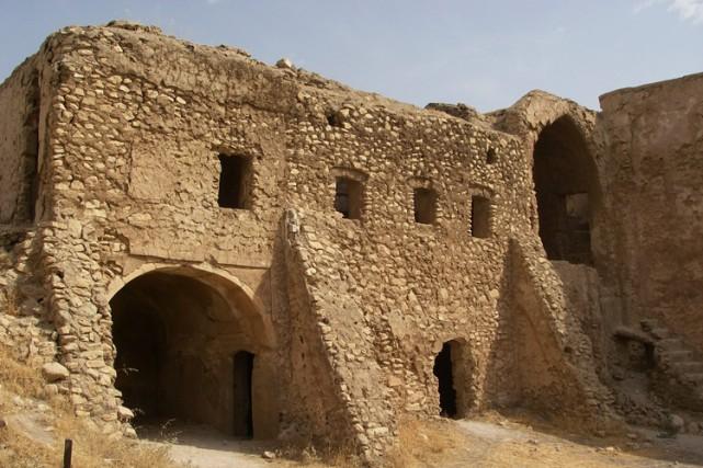 La région où se trouve le monastère était... (ARCHIVES AP)