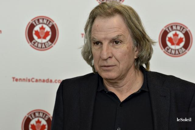 Selon le vice-président de Tennis Canada, EugèneLapierre, le... (Le Soleil, Patrice Laroche)