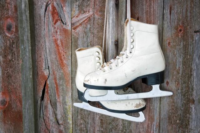 Les patineuses Roxanne Rheault et Vanessa Grenier se... (123RF)