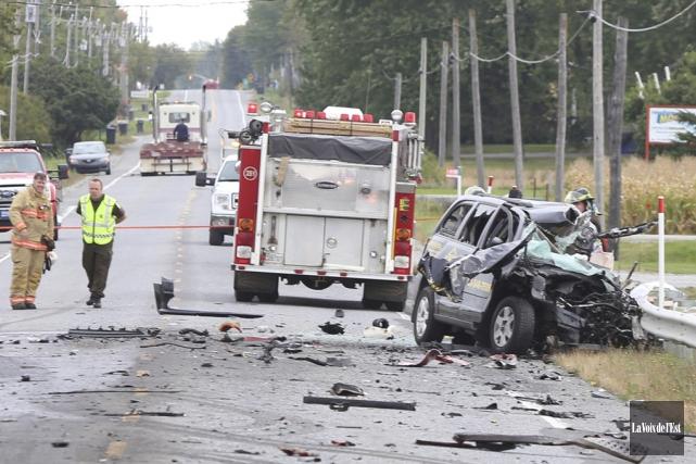 La cause exacte de la collision qui a... (Archives La Voix de l'Est)