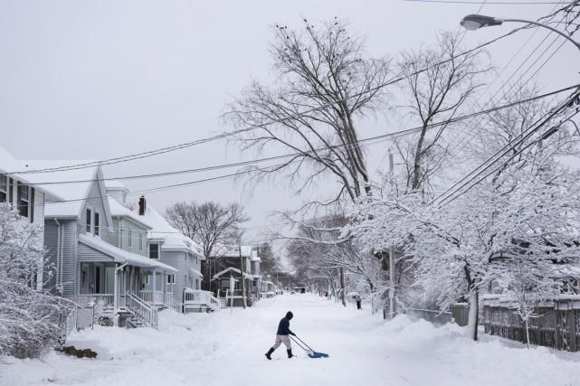 De manière générale, la température moyenne au Canada... (Photo La Presse Canadienne)