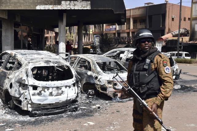L'attentat au Burkina Faso a fait 30 victimes,... (AFP, Issouf Sanogo)