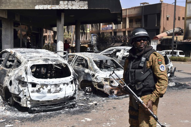 L'attentat de vendredi au Burkina Faso a fait... (AFP, Issouf Sanogo)