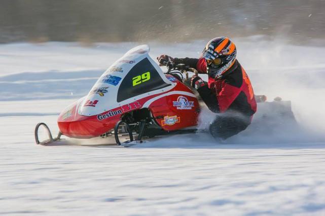 Marcel Savard, de l'équipe de course de motoneige... (Photo courtoisie, Glenn Fullum)