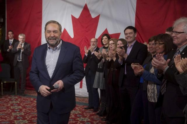 Le chef du NPD, Thomas Mulcair... (La Presse Canadienne)