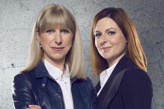 Les journalistes de Radio-Canada Isabelle Richer etMarie-Maude Denis... (fournie par Ici Radio-Canada)