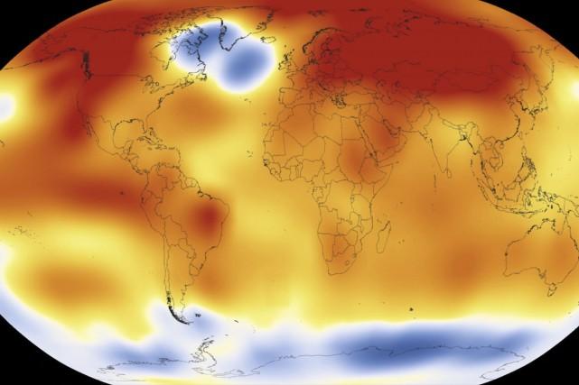 Le phénomène El Niño a fait s'accumuler d'énormes... (AFP, NASA)