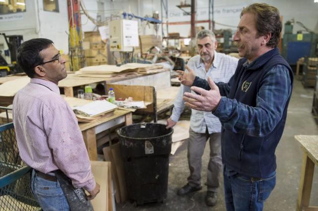 Le propriétaire de l'usine, Levon Afeyan - lui-même... (La Presse Canadienne)