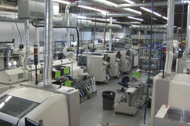 L'entreprise Varitron, qui possède entre autres une usine... (Fournie par Varitron)
