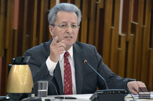Le maire de Saguenay, Jean Tremblay... (Archives Le Quotidien)