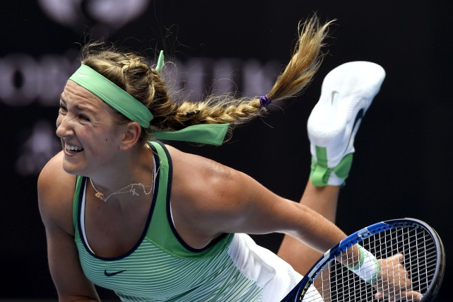 La Bélarusse Victoria Azarenka a accédé sans difficulté... (Associated Press)