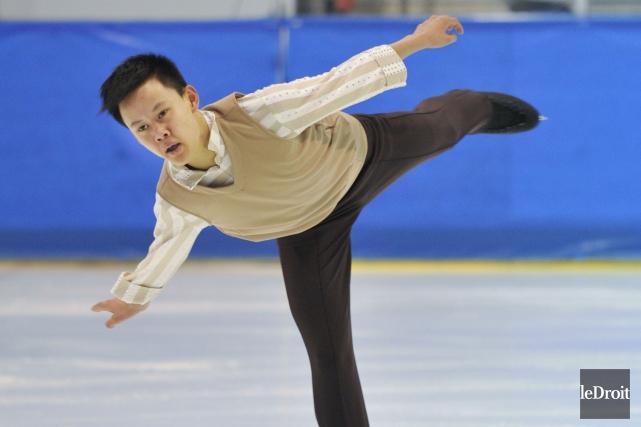 Le patineur artistique originaire de l'Outaouais,Joseph Phan... (Martin Roy, Archives LeDroit)
