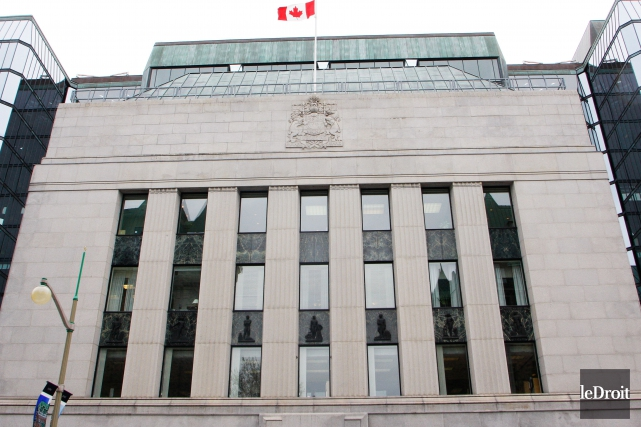 L'édifice de la Banque du Canada.... (Photo Étienne Ranger, archives Le Droit)