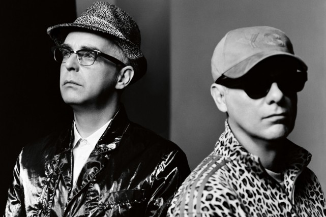 Neil Tennant et Chris Lowe du groupe Pet... (PHOTO FOURNIE PAR EMI)