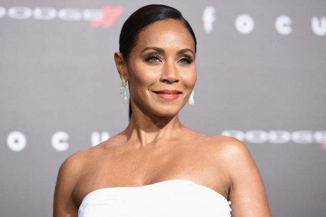 L'actrice Jada Pinkett Smith, qui est mariée à... (PHOTO ARCHIVES AP)