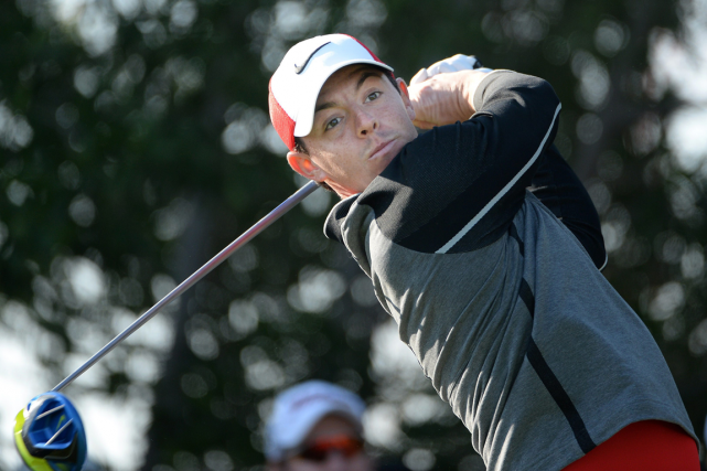 Rory McIlroy a remis une carte de 66, six... (Photo archives Associated Press)