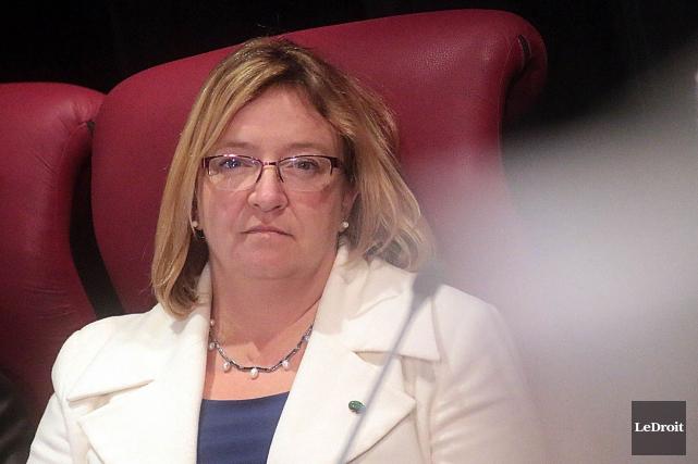 La conseillère Sylvie Goneau... (Etienne Ranger, Archives LeDroit)