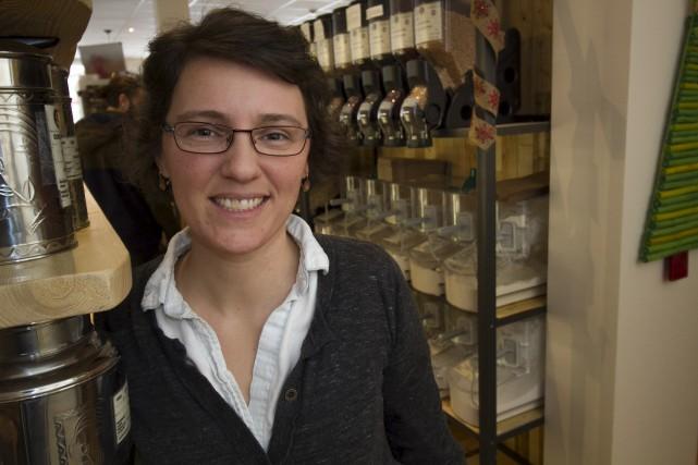 Nancy Squires, propriétaire de l'épicerie en vrac Le... (Spectre Média, René Marquis)