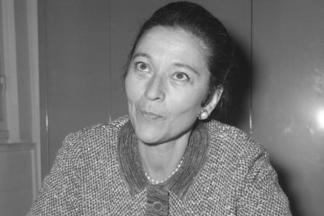 La résistante, journaliste et romancière française Edmonde Charles-Roux... (Archives Associated Press)