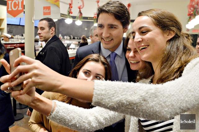 CHRONIQUE / Alors Justin Trudeau s'est fait raccrocher au nez par le conjoint... (Archives, Le Soleil)