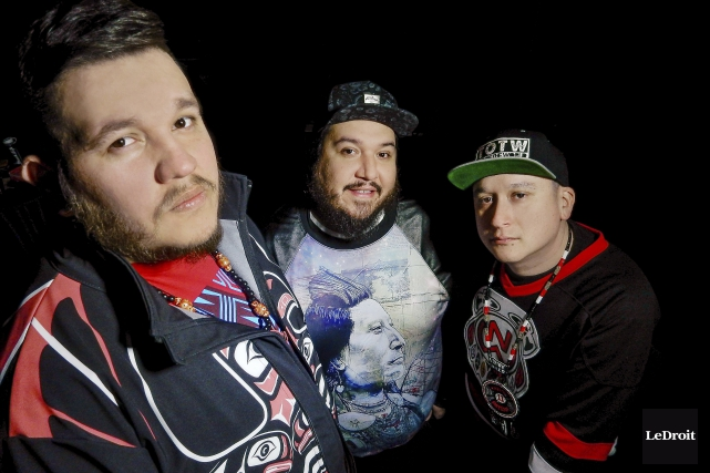 Le groupe d'Ottawa A Tribe Called Red fait... (Archives, LeDroit)