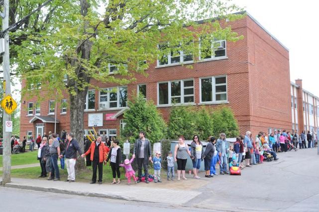 En mai dernier, toute la communauté de Saint-Boniface... (Archives)