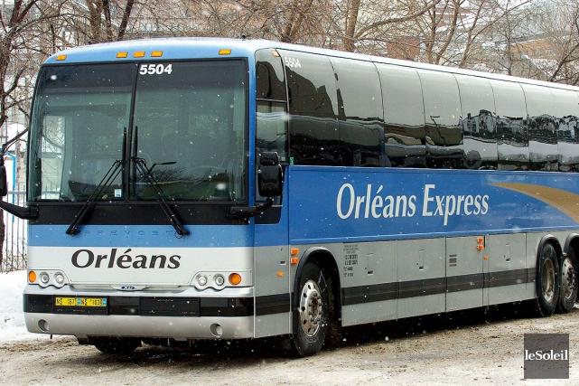 Le départ d'Orléans Express se fait uniquement la... (Photothèque Le Soleil, Erick Labbé)
