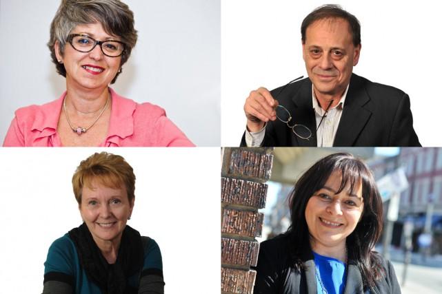Louise Plante, Jean-Marc Beaudoin, Ginette Gagnon et Linda...