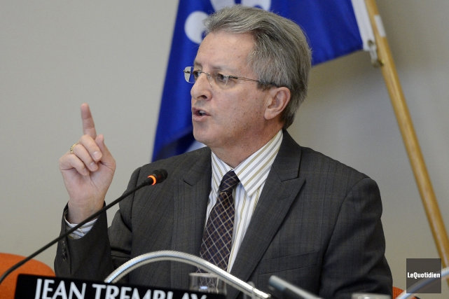 Le maire Jean Tremblay est relativement satisfait de... (Archives Le Quotidien, Jeannot Lévesque)
