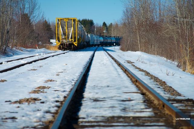 La Central, Maine & Québec Railway (CMQR) tentera... (Archives, La Tribune)