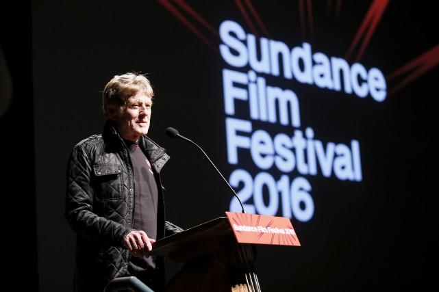 Robert Redford inaugurait jeudi soir le festival du... (AP, Danny Moloshok)