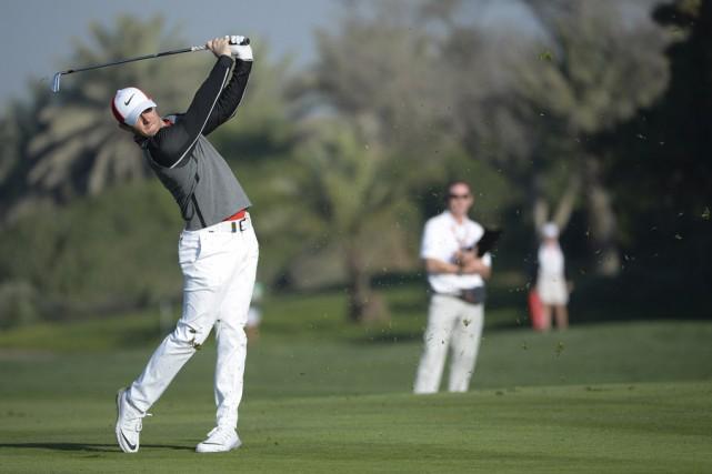 Rory McIlroy a remis une carte de 66,... (Associated Press)