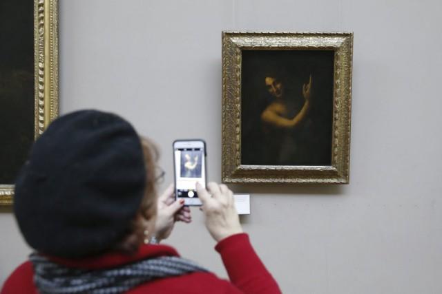 Peint pendant la première décennie du XVesiècle, le... (AFP, Patrick Kovarik)